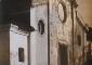La facciata della chiesa dei Santi Eugenio e Maria (Vigano Certosino). Fotografia di Gerardo Colombo, 1920-1930. Civico Archivio Fotografico, MI