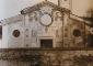 La facciata della chiesa dei Santi Eugenio e Maria, con gli affreschi di Bernardino de Rossi. Fotografia di Gerardo Colombo, 1920-1930. Civico Archivio Fotografico, MI
