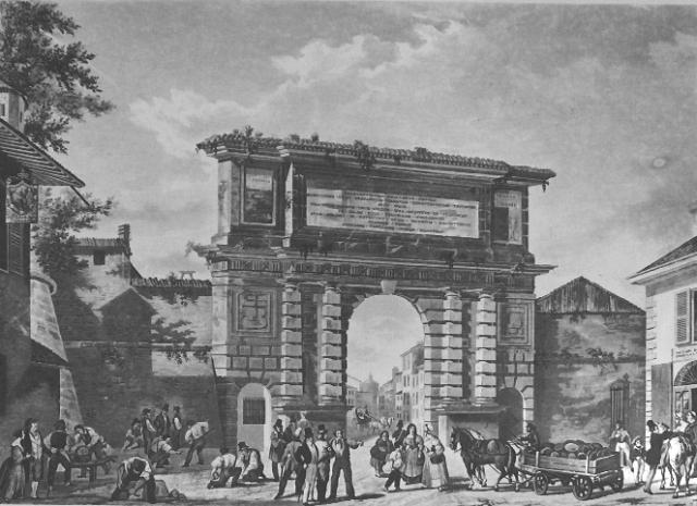Arco di porta romana milano nei cantieri dell 39 arte - Autoscuola porta romana milano ...