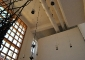 Il foyer della Sala Granata e il portale di via Solferino