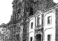 Facciata della chiesa di San Filippo e della Biblioteca