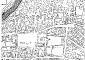 Mappa storica del centro di Lodi