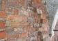 Paramento murario lato sud-ovest con evidenza di diversi momenti costitutivi