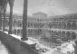 Il Cortile Farmacia dopo i bombardamenti del 1943