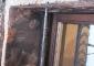 Particolare del lavoro di restauro:  consolidamento con inserimento di perni in acciaio