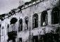 L'edificio dopo il bombardamento del 1943