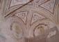 Sala della Fama, angolo sud-ovest – Intervento di risarcitura delle lesioni e restauro delle superfici decorate