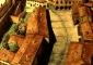 Ricostruzione ideale di come si presentasse il sedime della piazza Ducale prima della realizzazione della piazza (1492)
