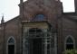Facciata della chiesa parrocchiale prima dell'intervento di restauro