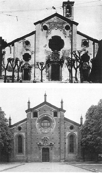 Milano - Chiese / Edifici religiosi: Chiesa di San Pietro in Gessate