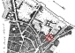 Circondario amministrativo di Porta Orientale, pianta anonima edita intorno al 1786