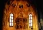 Interno della chiesa: cappella di S. Antonio con il polittico attribuito al Montorfano
