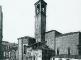 La zona absidale, il transetto destro e il campanile prima dei bombardamenti del 1943