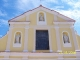 La parte alta della facciata dopo il restauro (agosto 2008)