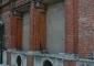 Particolare delle aperture cinquecentesche prima dell'intervento di restauro