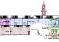 Immagini indicanti le fasi costruttive dell'edificio (vedi relazione storica)