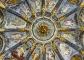 Volta del Santuario – Dio padre Benedicente al centro, risalente al Cinquecento