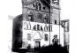 Facciata:foto storica del 1852