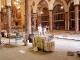 Il nuovo pavimento in marmo su pavimento a pannelli radianti per il campanile