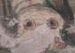 Camera sepolcrale: un particolare degli affreschi