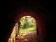 Interno di uno dei tunnel