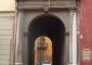 Portale d'ingresso prima del restauro