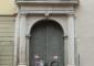 Portale d'ingresso a restauro avanzato