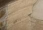 Saggio pulitura elemento marmoreo