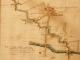 Particolare dell'andamento della roggia Cavallera Crivella in territorio di Mairago (1720)