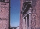 Esterno: muratura e finistrone verso Casa dei Canonici dopo il restauro