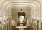 L'interno dell'oratorio di S. Ambrogio ad Nemus