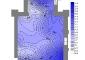 Battuta del giorno 16 ottobre 2008 alle ore 8.30, Mappa della Umidità Relativa (%), Dati esterni: Temperatura 16.3°C, Umidità Relativa 83.5%