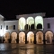 Veduta notturna di Palazzo Arese Borromeo