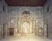 Salone dei fasti romani: veduta generale del lato nord-ovest prima del restauro