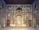 Salone dei fasti romani: veduta generale del lato nord-ovest dopo il restauro