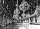 Veduta storica della Sala delle Cariatidi (vano n.120), prima dei bombardamenti