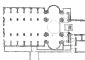 Progetto definitivo in pianta per San Vittore (Raccolta Bianconi)