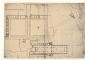 Milano - Archivio Storico Civico - raccolta Bianconi tomo IV-2    Pianta della basilica e del Monastero di S. Ambrogio – sec. XVII – attribuita al Richini
