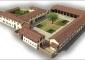 Rendering del complesso di Villa Beltrami