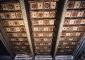 Stanza degli Animali soffitto ligneo dopo il restauro