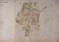Villa Frisiani in mappa catasto teresiano ASMI
