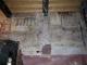 Piano terra, ala ovest, sala d'angolo - prima dell'intervento di restauro